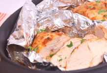 fırında tavuk filetosu