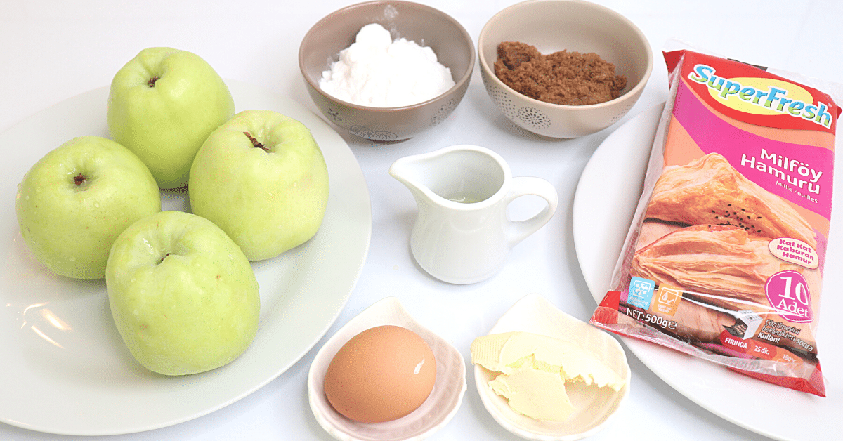 milföyden elmalı pay malzemeleri