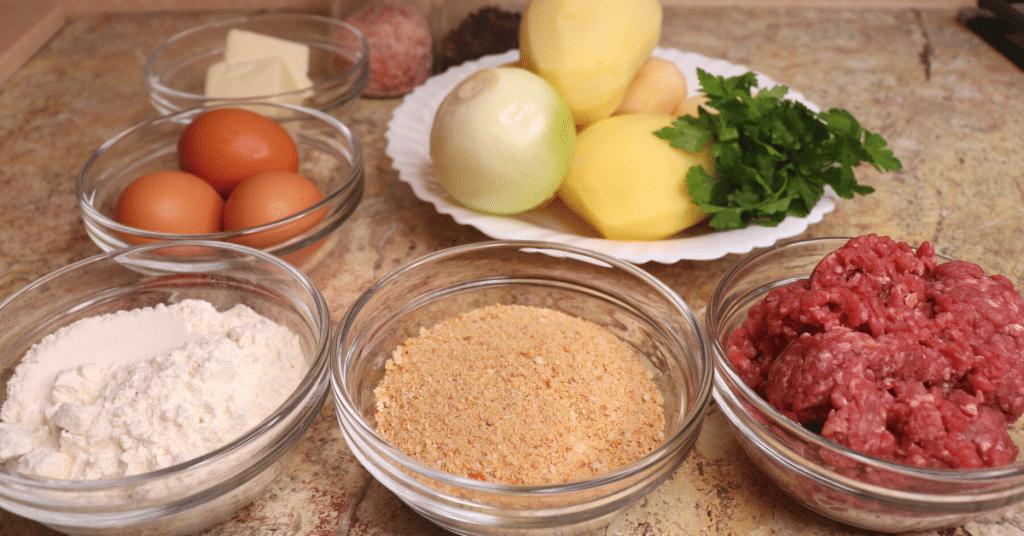 kıymalı patates köftesi malzemeleri