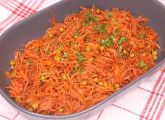 sebzeli tel şehriye pilavı tarifi
