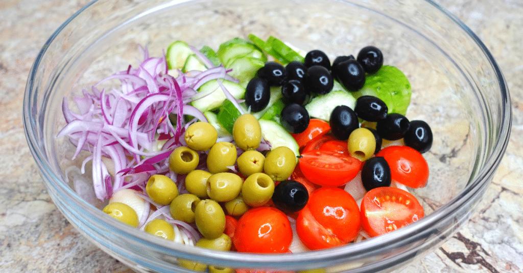 soğuk makarna salatası yapılışı