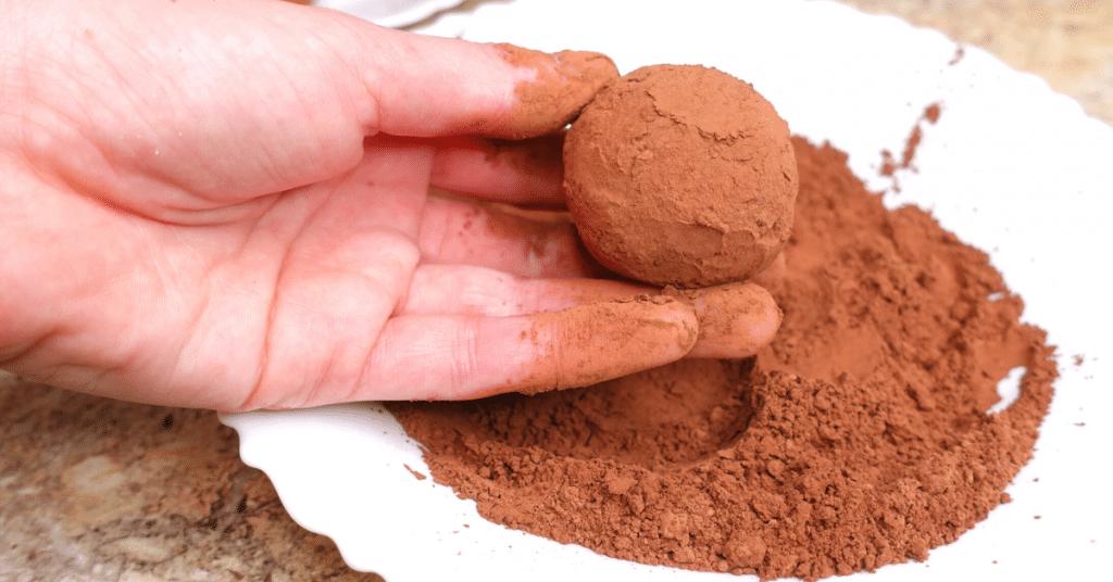 tiramisu topları kakaolu